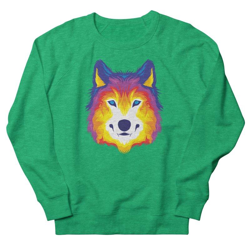 Wolf in color Women's Sweatshirt by