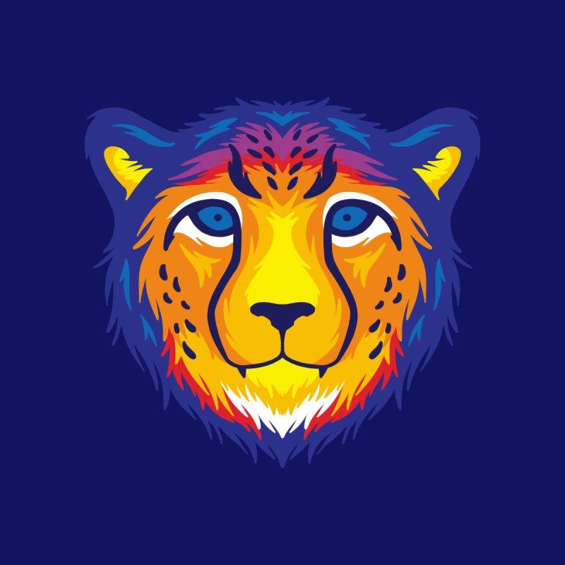 Cheetah in color Women's Tank by Imagi Factory
