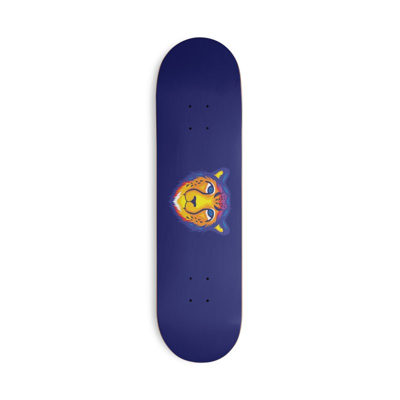 Cheetah in color Accessories Skateboard by Imagi Factory