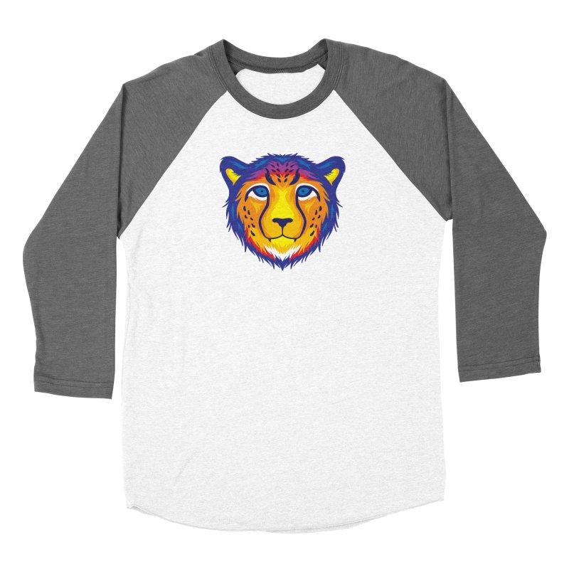 Cheetah in color Women's Longsleeve T-Shirt by Imagi Factory