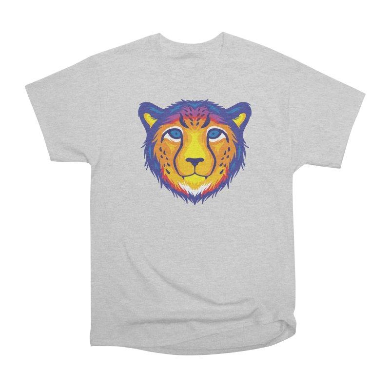 Cheetah in color Men's T-Shirt by Imagi Factory