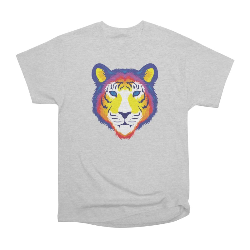 Tiger in color Men's T-Shirt by Imagi Factory