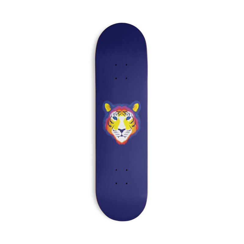 Tiger in color Accessories Skateboard by Imagi Factory