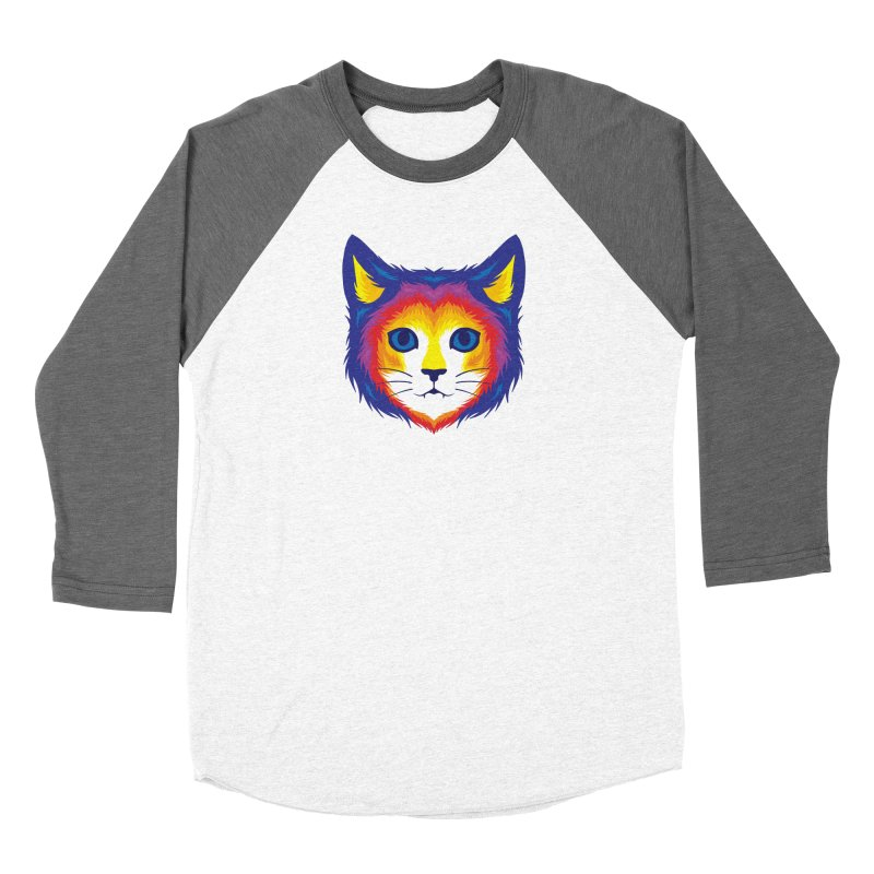 Cat in Color Women's Longsleeve T-Shirt by Imagi Factory