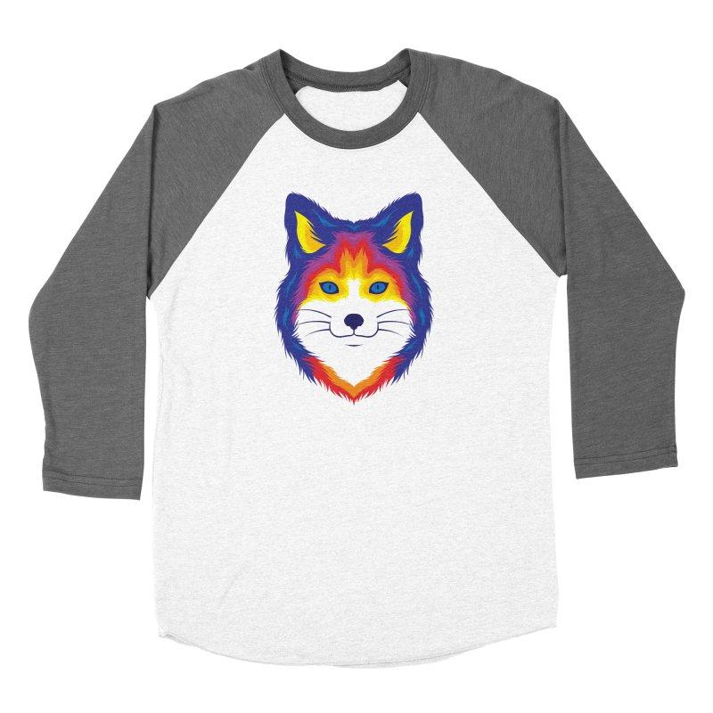Fox in Color Women's Longsleeve T-Shirt by Imagi Factory