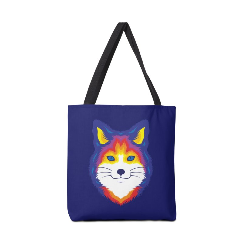 Fox in Color Accessories Bag by Imagi Factory