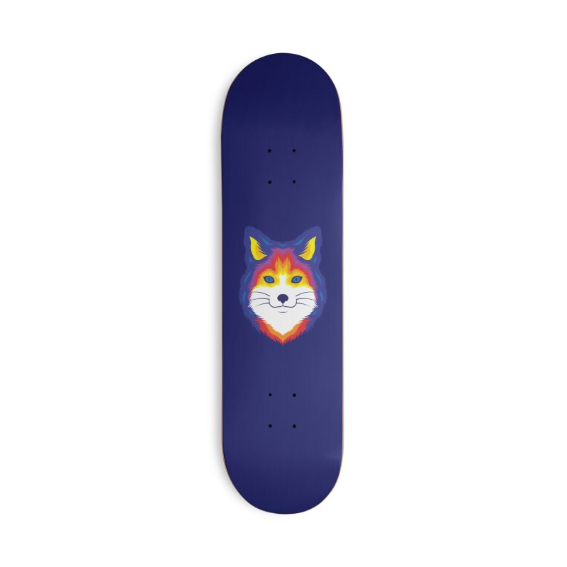 Fox in Color Accessories Skateboard by Imagi Factory