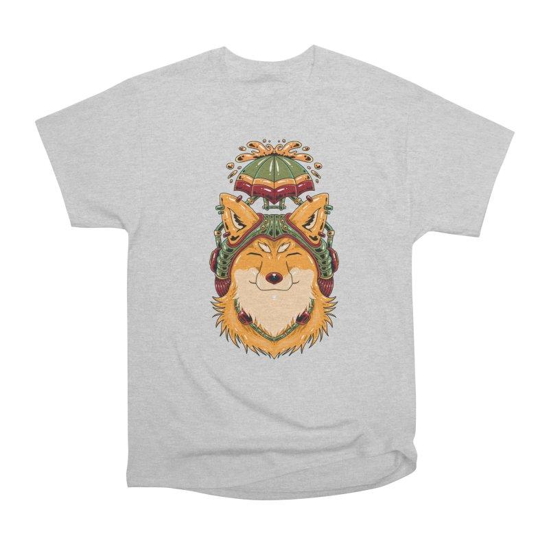Steampunk Fox Men's T-Shirt by Imagi Factory