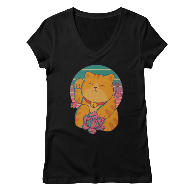 Acting Cute Women's V-Neck by