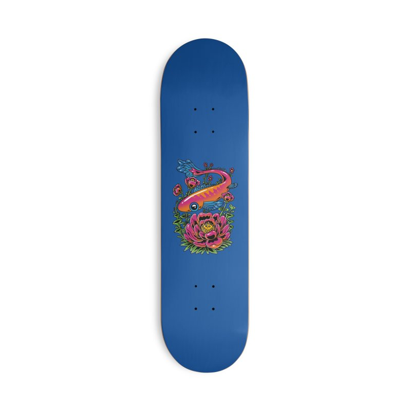 Fish & Flower Accessories Skateboard by Imagi Factory