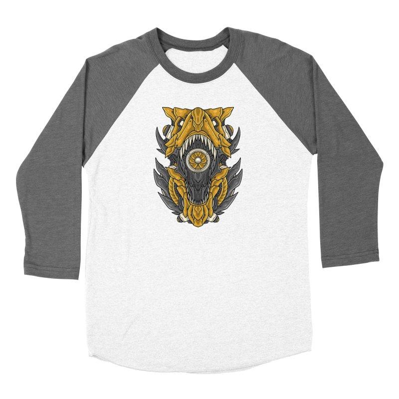 Mecha T-Rex Gold Women's Longsleeve T-Shirt by