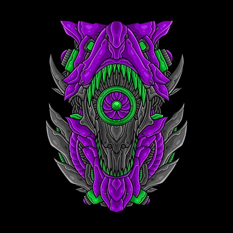 Mecha T-Rex Purple Women's Sweatshirt by