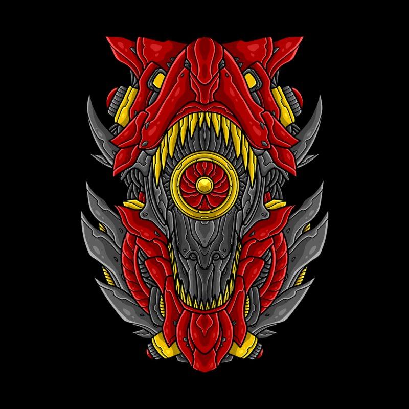 Mecha T-Rex Red Men's T-Shirt by