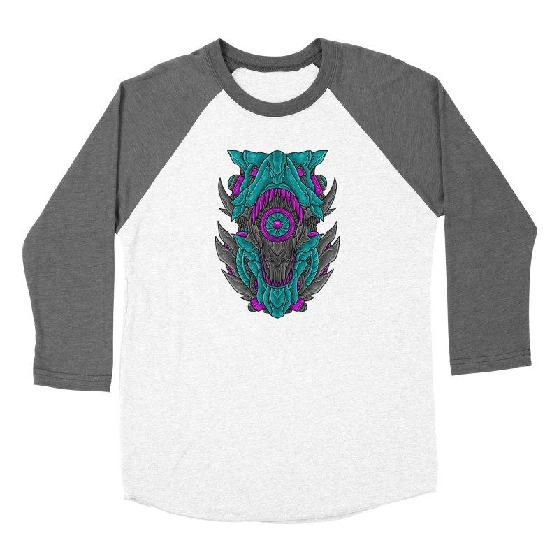 Mecha T-Rex Turquoise Women's Longsleeve T-Shirt by