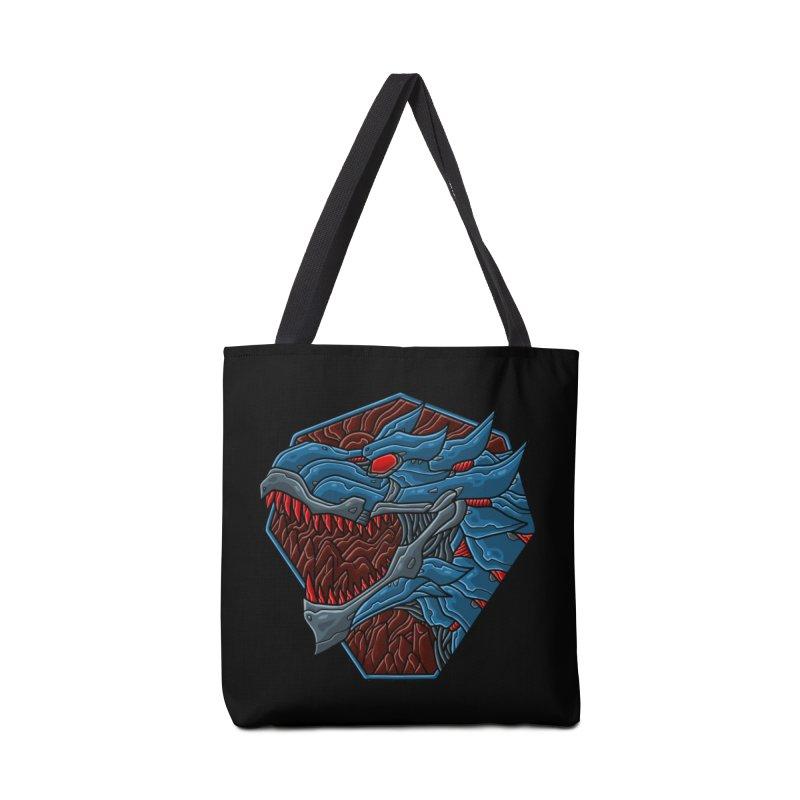 Mecha T-Rex Badge Accessories Bag by