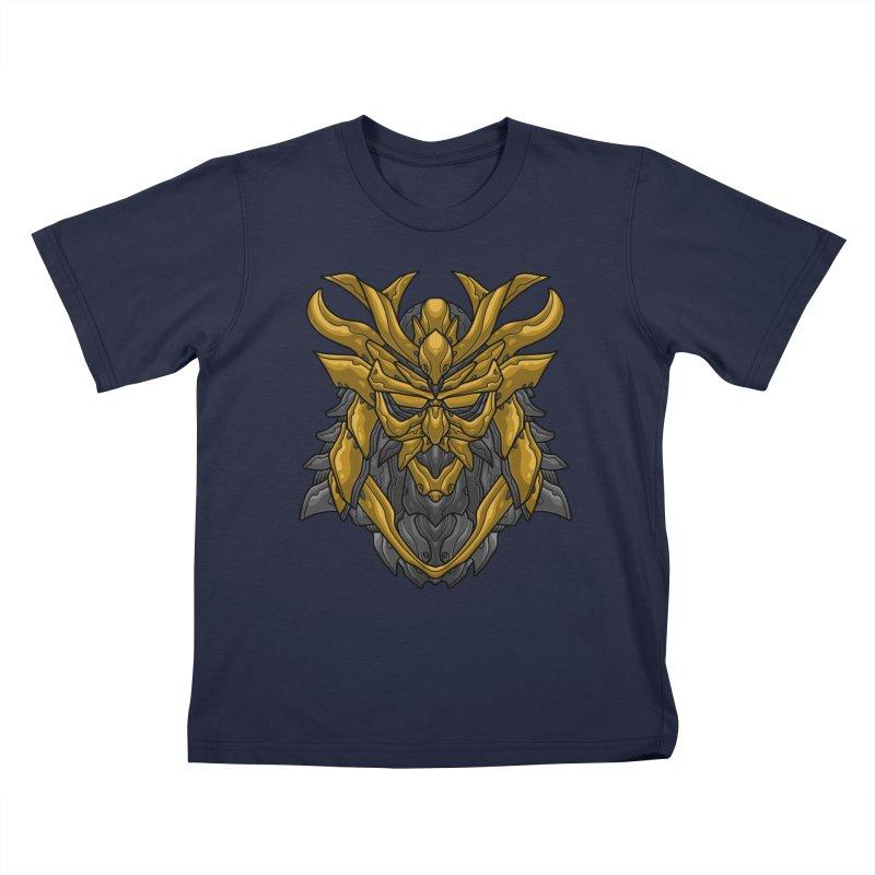 Mecha Samurai Kids T-Shirt by