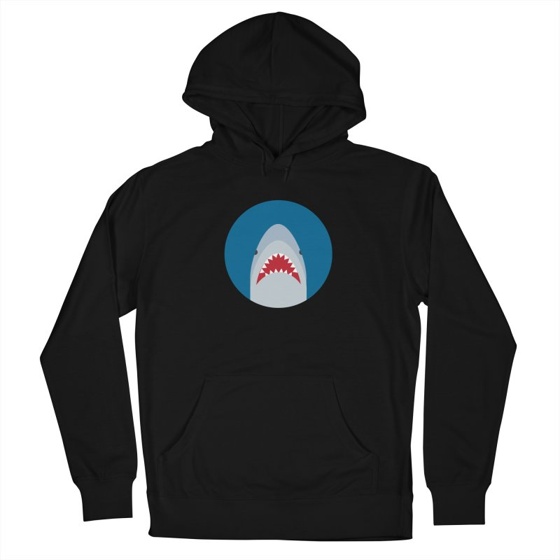 Shark Attack Men's Pullover Hoody by imaginarystory's Artist Shop