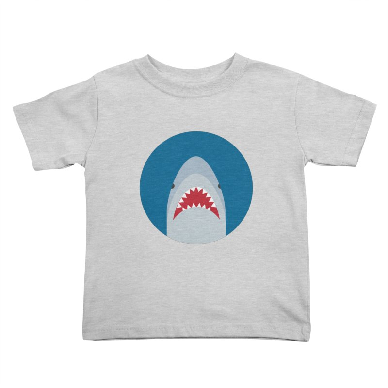Shark Attack Kids Toddler T-Shirt by imaginarystory's Artist Shop