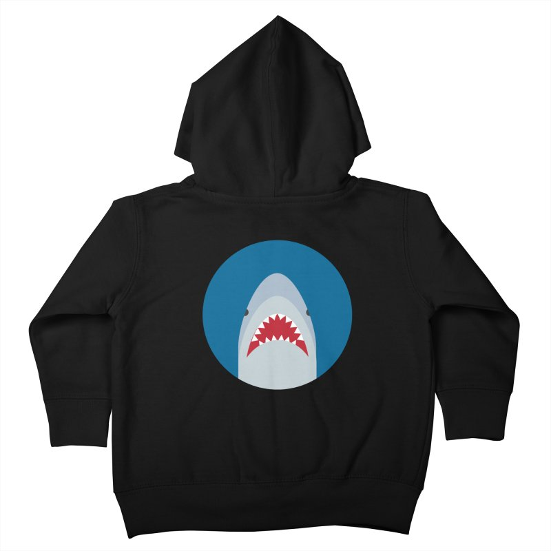 Shark Attack Kids Toddler Zip-Up Hoody by imaginarystory's Artist Shop