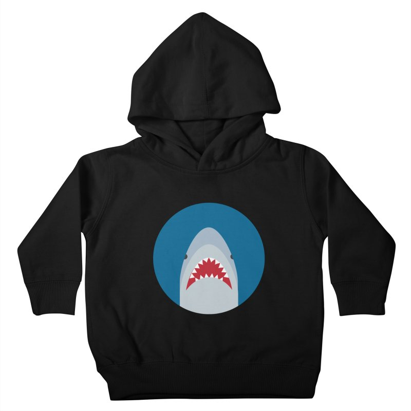 Shark Attack Kids Toddler Pullover Hoody by imaginarystory's Artist Shop