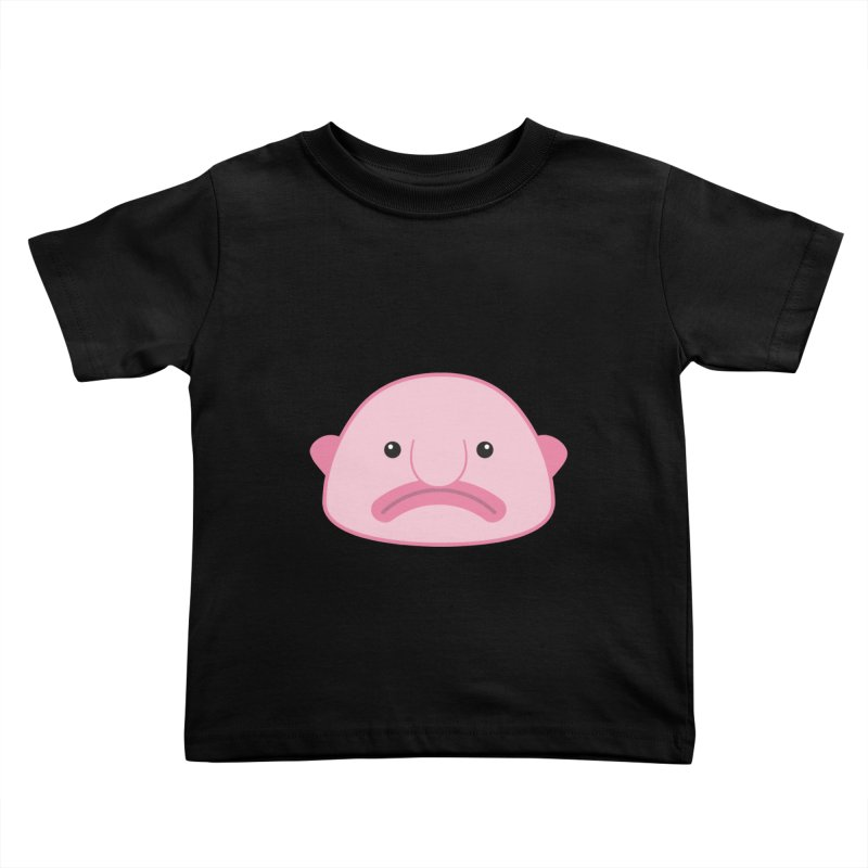 Blobfish Kids Toddler T-Shirt by imaginarystory's Artist Shop