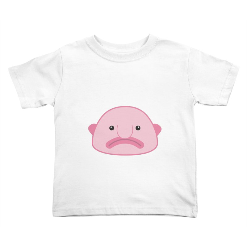 Blobfish Kids Toddler T-Shirt by imaginarystory's Artist Shop