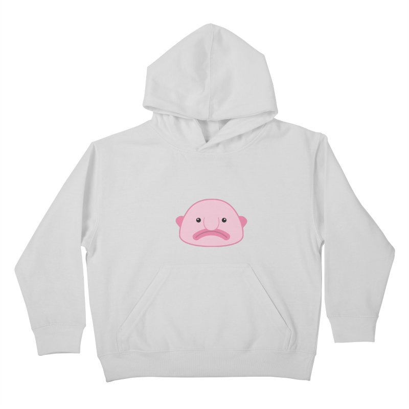 Blobfish Kids Pullover Hoody by imaginarystory's Artist Shop