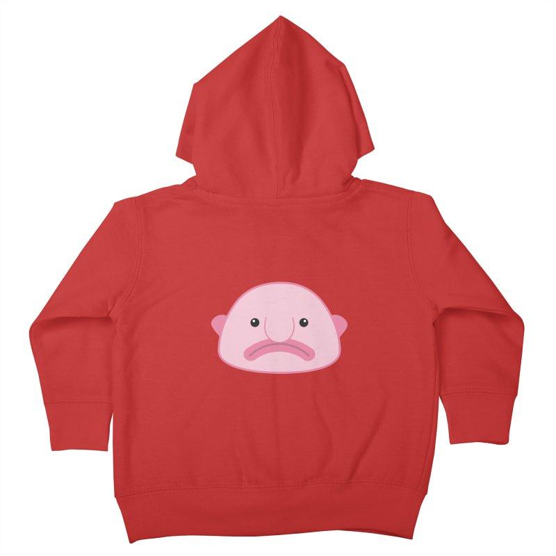 Blobfish Kids Toddler Zip-Up Hoody by imaginarystory's Artist Shop