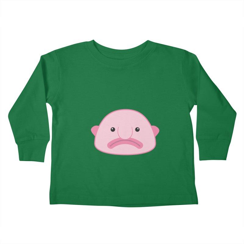 Blobfish Kids Toddler Longsleeve T-Shirt by imaginarystory's Artist Shop