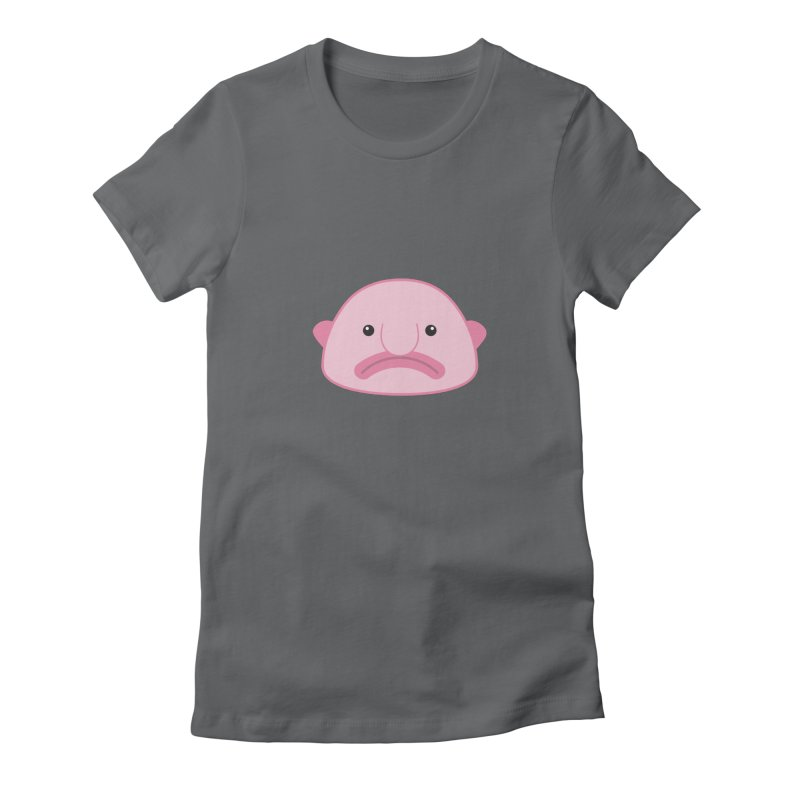 Blobfish Women's Fitted T-Shirt by imaginarystory's Artist Shop