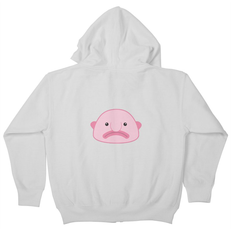 Blobfish Kids Zip-Up Hoody by imaginarystory's Artist Shop