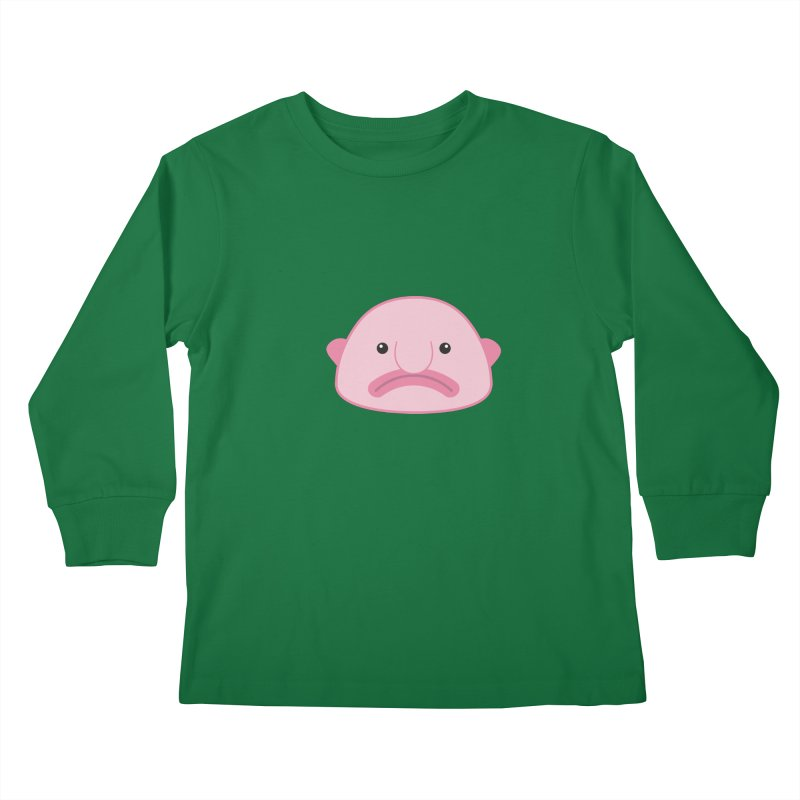 Blobfish Kids Longsleeve T-Shirt by imaginarystory's Artist Shop