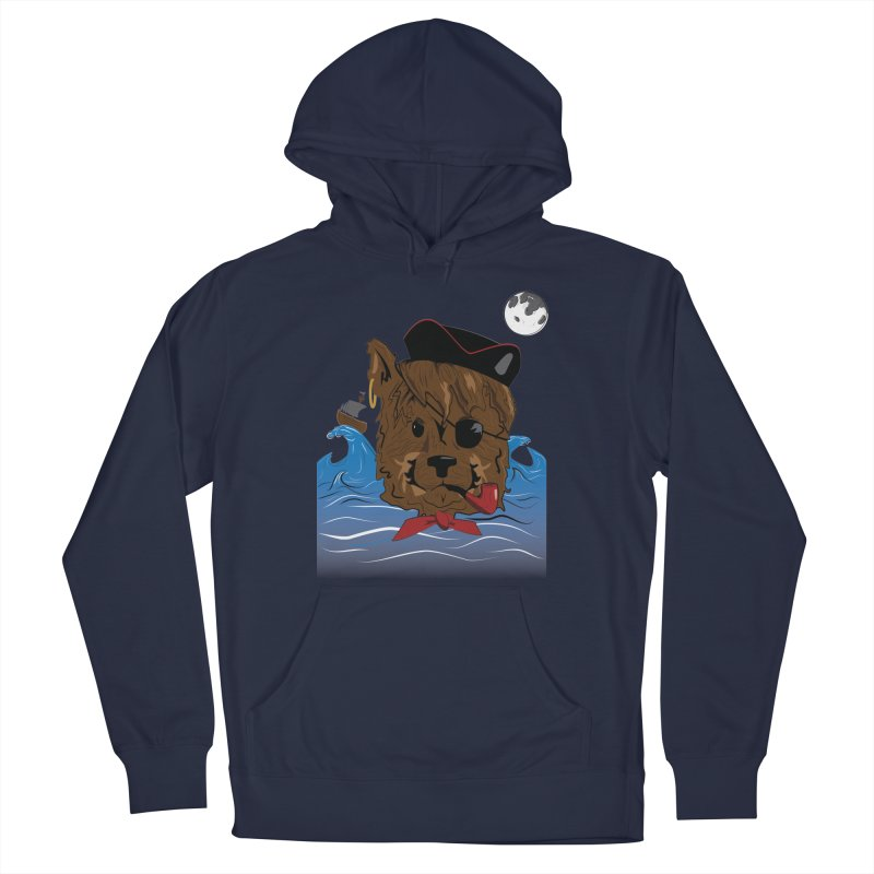 Pirate Pup Men's Pullover Hoody by imintoit's Artist Shop