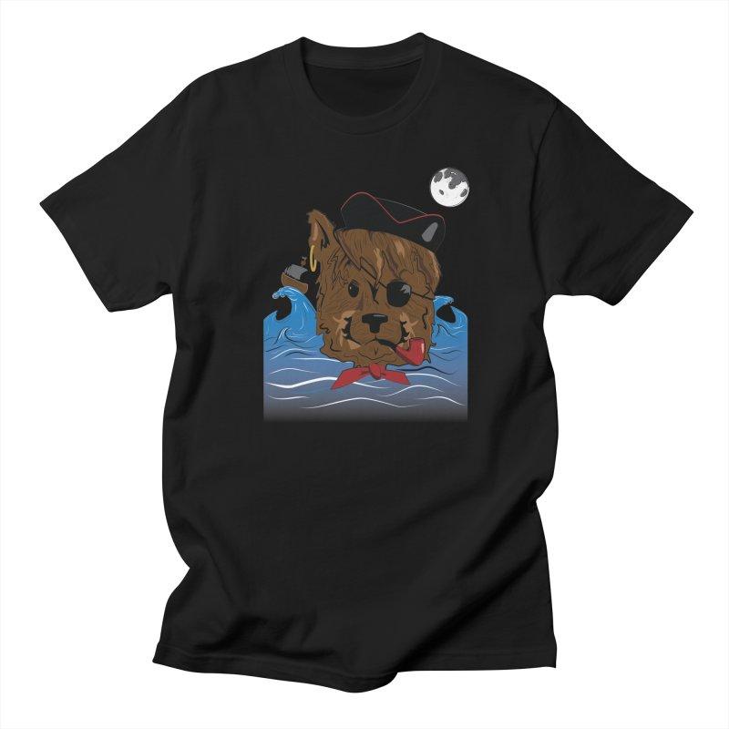 Pirate Pup Men's T-Shirt by imintoit's Artist Shop