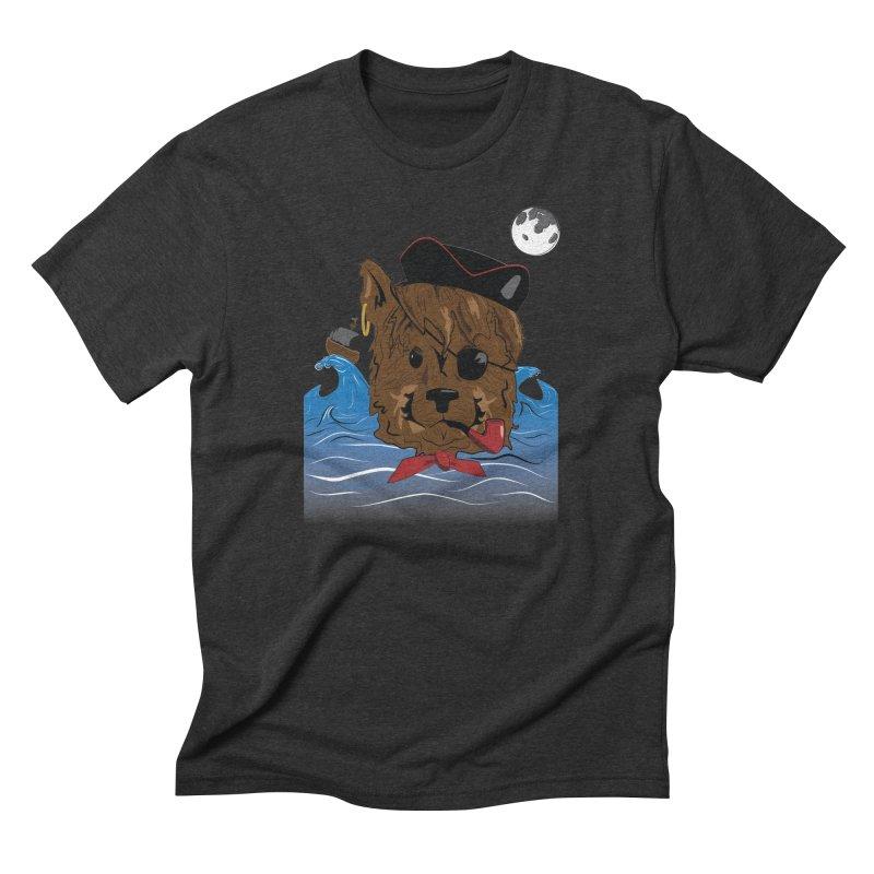 Pirate Pup Men's Triblend T-Shirt by imintoit's Artist Shop