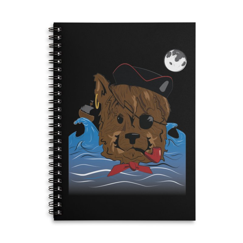 Pirate Pup Accessories Notebook by imintoit's Artist Shop