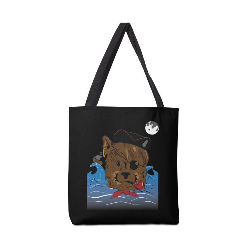 Pirate Pup Accessories Bag by imintoit's Artist Shop