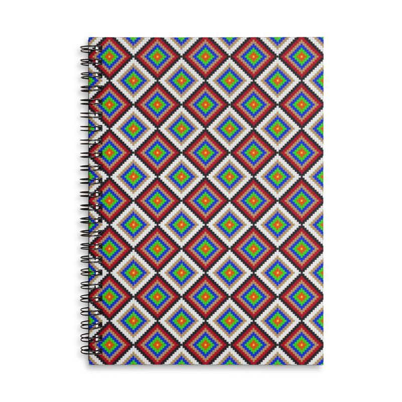 Geo pattern Accessories Notebook by imintoit's Artist Shop