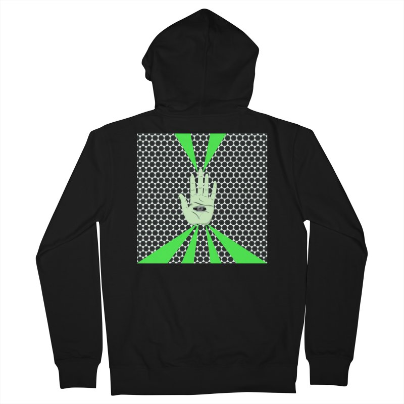 Hand Eye Coordination Men's Zip-Up Hoody by imintoit's Artist Shop