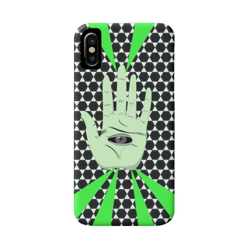 Hand Eye Coordination Accessories Phone Case by imintoit's Artist Shop