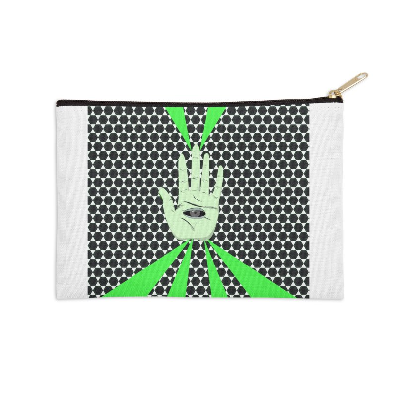 Hand Eye Coordination Accessories Zip Pouch by imintoit's Artist Shop