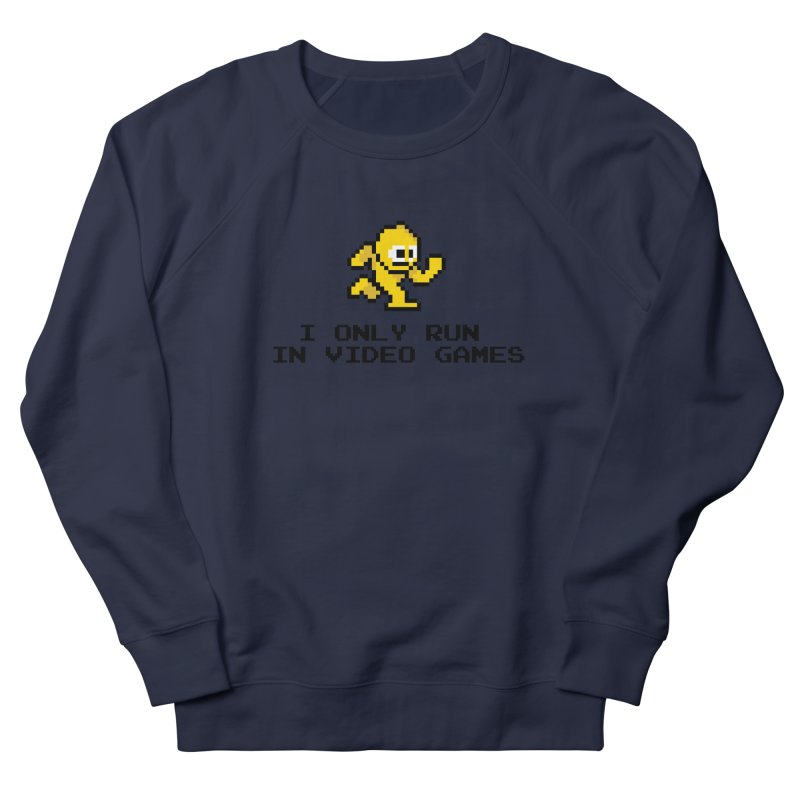 I only run in video games Men's Sweatshirt by immerzion's t-shirt designs