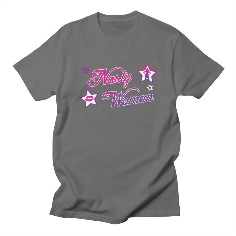 Nasty Woman Men's T-shirt by immerzion's t-shirt designs
