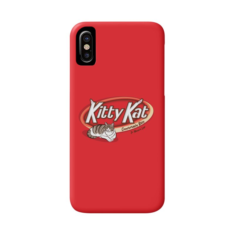 Kitty Kat Accessories Phone Case by immerzion's t-shirt designs
