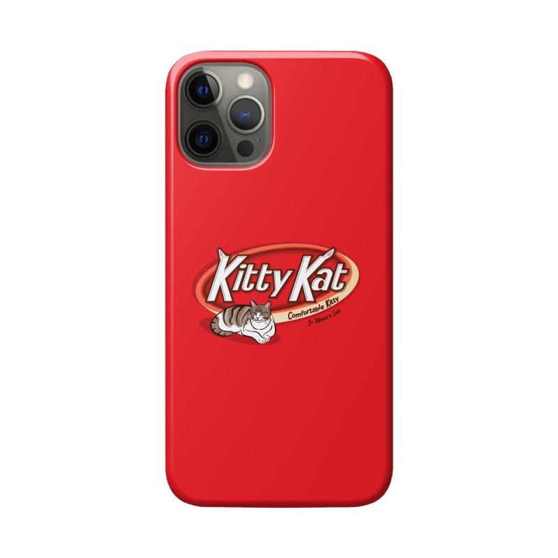 Kitty Kat Accessories Phone Case by immerzion's t-shirt designs