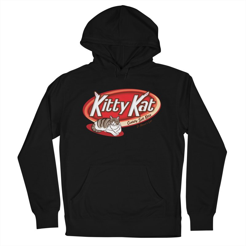 Kitty Kat Men's Pullover Hoody by immerzion's t-shirt designs