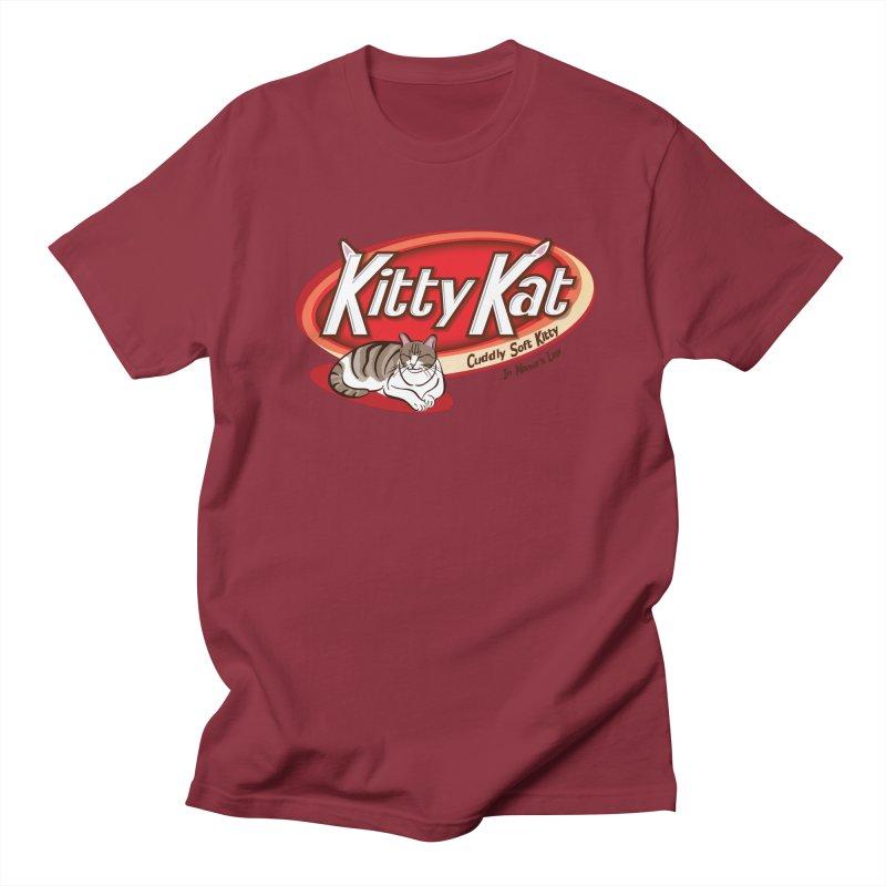Kitty Kat Women's Unisex T-Shirt by immerzion's t-shirt designs