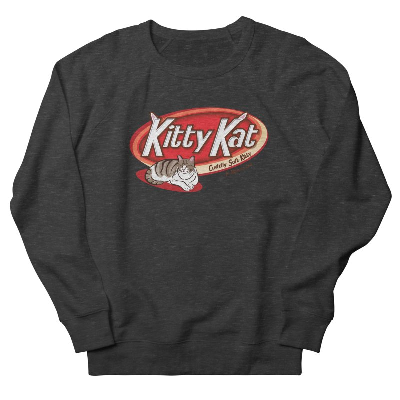 Kitty Kat Women's Sweatshirt by immerzion's t-shirt designs