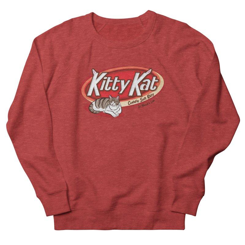 Kitty Kat Men's Sweatshirt by immerzion's t-shirt designs