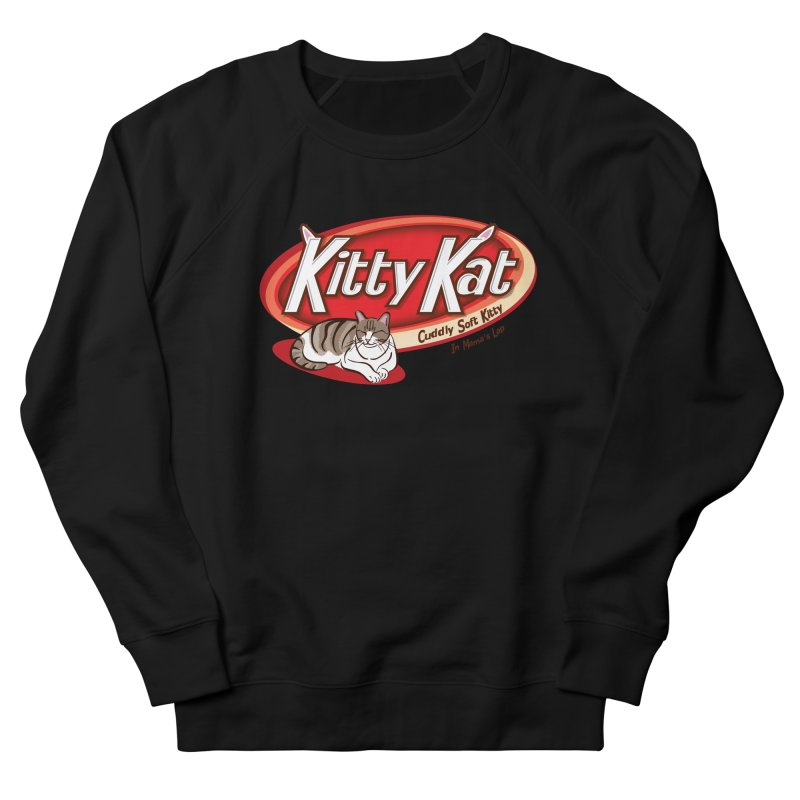 Kitty Kat Men's French Terry Sweatshirt by immerzion's t-shirt designs